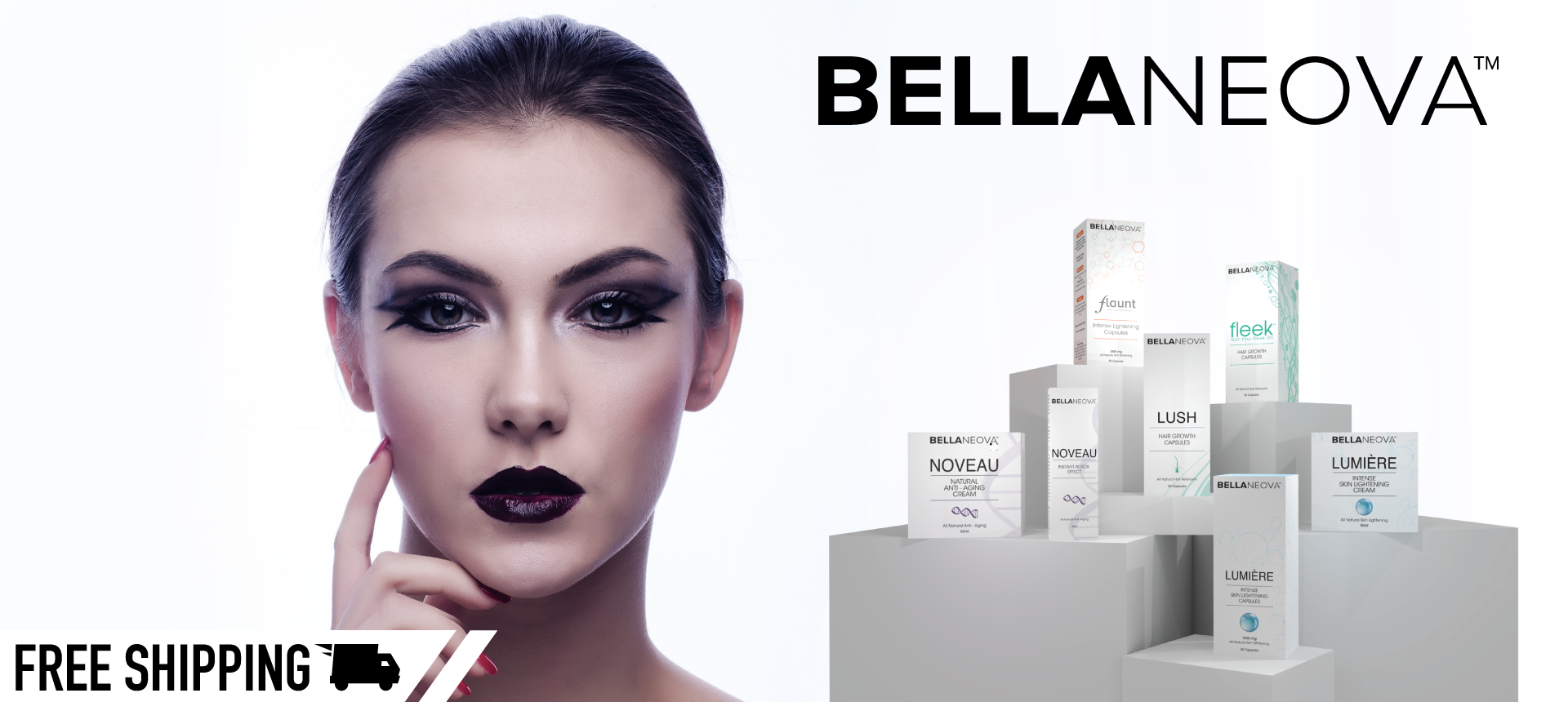 Bellaneovas NEW Range of Hair Skin Lightening and Anti-Aging and Ageing Products